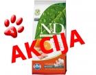Farmina ND Hrana za odrasle pse srednjih rasa Riba/pomorandža