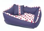 Krevet za psa RED DROPS