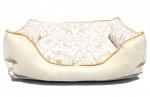Krevet za psa LUX CREAM GOLD