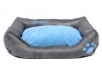 Krevet za psa MELODY sivo plavi