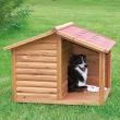 Kućica za psa drvena sa tremom