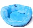 Ležaljka za male pse BLUE Minky
