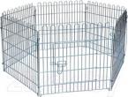 Ogradica za štene 60 x 63 cm 6 panela sa mrežicom