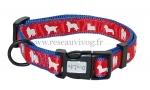 Ogrlica za psa GALO crvena