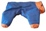 Skafander za psa MAX GOROTEX plavo oranž
