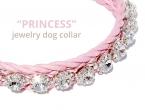 Ukrasna ogrlica za male pse CRYSTAL PRINCESS