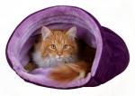 ležaljka tunel za mace Kitty Darling